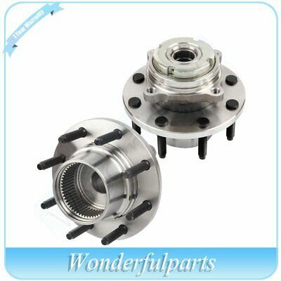 2 x Front Wheel Hub Bearing Assembly For F250 Super Duty F350 Super Duty 4X4 4WD