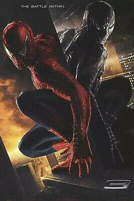 Spider-Man 3 Advance Style Original Double Sided Movie Poster 27x40