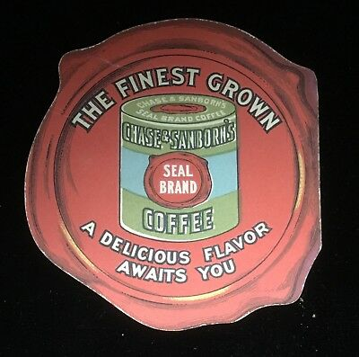 Chase And Sanborn Seal Brand Coffee Booklet Advertising Antique Old Vintage Rare