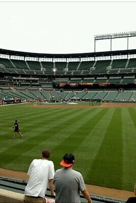 1-13 Tickets 4/7 Baltimore Orioles Vs New York Yankees Section 98 Row 1