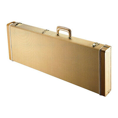 Gator Cases GW-ELECTRIC-TW Deluxe Wood Series Electric Guitar Case, Tweed