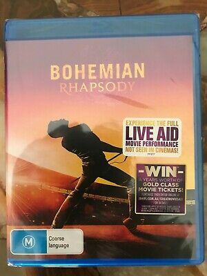 Bohemian Rhapsody (Blu-ray, 2019) ***BRAND NEW and SEALED***