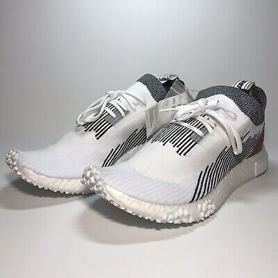 83e05f583 Adidas Men s Nmd Racer Whitaker Car Club X Pk White blk red Wood Ac8233