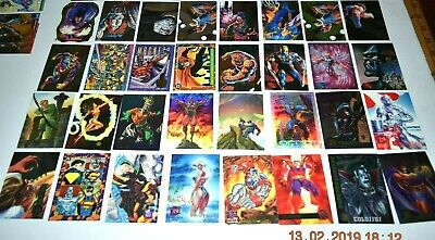 Vintage 90's Marvel X-Men Trading Card lot, singles, inserts, Fleer Ultra Chrome