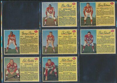 1963 Post CFL Complete Set of 160 Football Cards Rare White Back Short Prints