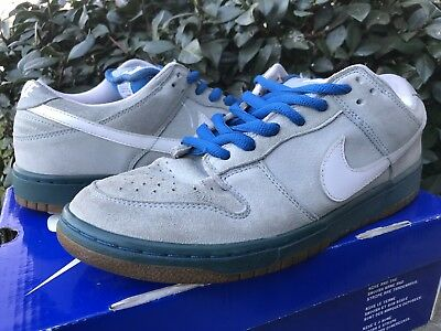 best service 62b84 5ab4f Nike SB Dunk Boarder Blue Size 9.5 Sneakers Shoes Skate Boarding Supreme  Rare