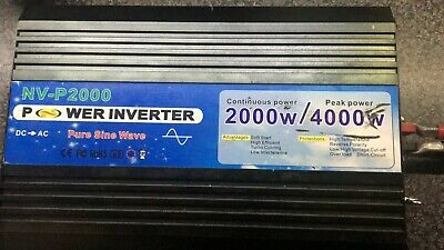 Power Inverter 4000W NV-P2000  Special Edition
