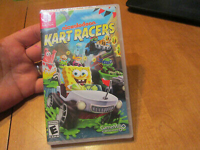 Nickelodeon Kart Racers Nintendo Switch Brand New Factory Sealed Us Edition