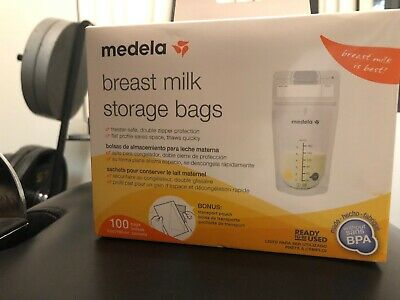 Medela, Breast Milk Storage Bags, 100 count