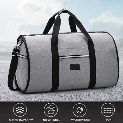 748d745ab80d New 2 in 1 Travel bag Shoulder Luggage Two-In-One Garment Bag Duffle