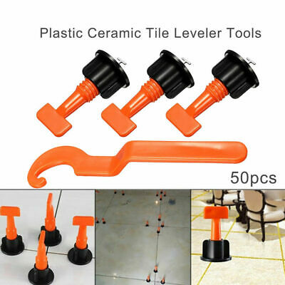 50X Tile Leveling Floor Wall Reusable Anti-lippage Leveling System UK Free Post