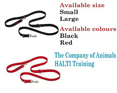 The Company of Animals HALTI Training Lead, Black / Red / Small / Large