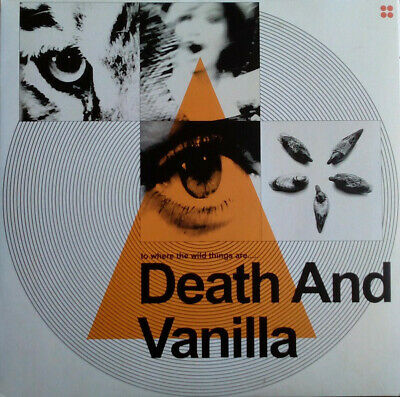 Death And Vanilla ‎– To Where The Wild Things Are..... Orange Vinyl  OVP