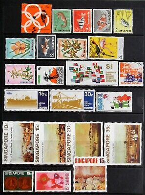Singapore stamps on page MNH A3054.