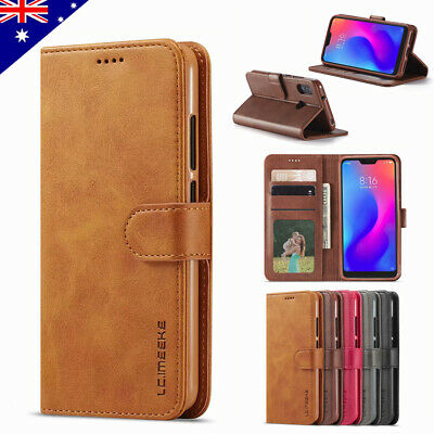 For Xiaomi Redmi Note 7/6 6 Pro 6A 5A 4X 4A Leather Flip Wallet Case Stand Cover