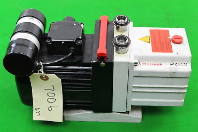 Vacuum Pump- Pfeiffer Duo 2.5 Dual Stage Rotary Vane - Made in Germany 110-130V