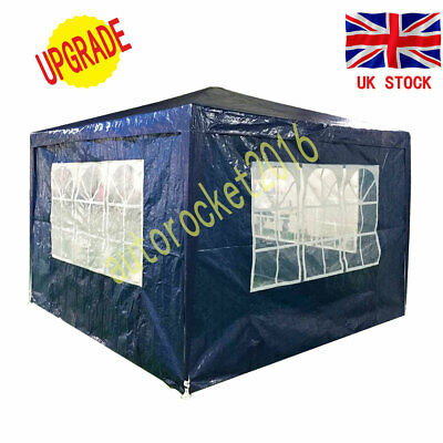 High Quality 3x3m Folding Gazebo Marquee Garden Awning Party Tent Canopy 120g