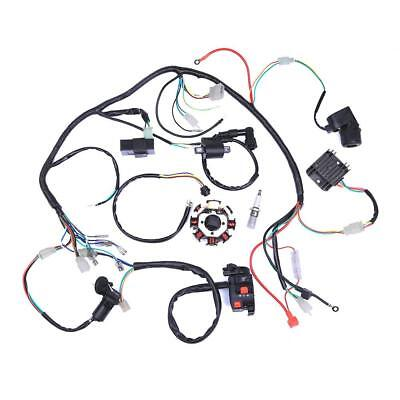 Full Wiring Harness Loom Cdi Assembly For 49cc 125cc Zongshen Lifan