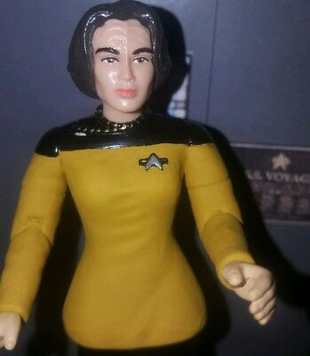 Star Trek 🖖custom👽 Lot Of 6😎 Action Figures Tos Tng Voyager Ds9 Ready To Ship