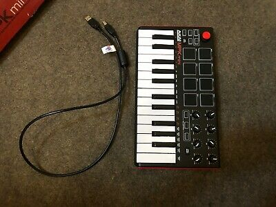 Akai MPK Mini MK2 Laptop Keyboard & Drum Pads USB MIDI Controller