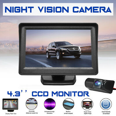 CCD 4.3″ Monitor Rear View Reverse Reversing Camera Kit For Ford Transit Connect