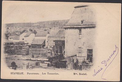 Stavelot : Panorama. Les Tanneries (1901)