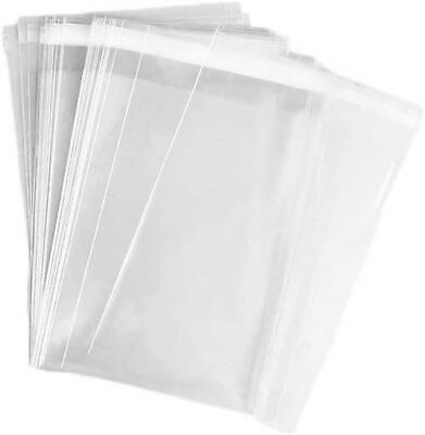 *UK Seller* PREMIUM Clear Cello Card Bags Self Seal A4 C5 C6 C7 DL Cellophane