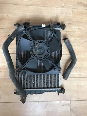 Chevrolet Matiz 1.0 Petrol Water Coolant Radiator + fan With Ac 96591475 05-10