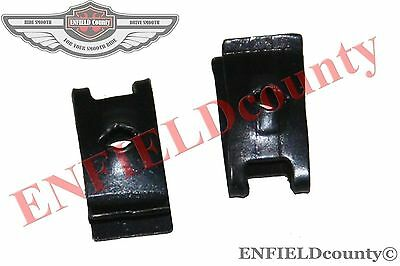 New Inner Fender Wire Harness Holding Clip Set 2 Units For Vespa Scooters @cad