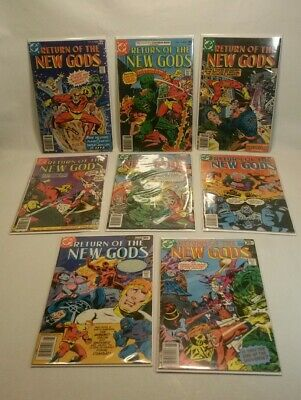 ☆ DC Return of the New Gods, Lot of 8. Issues #12 13 14 15 16 17 18 19-1977/1978