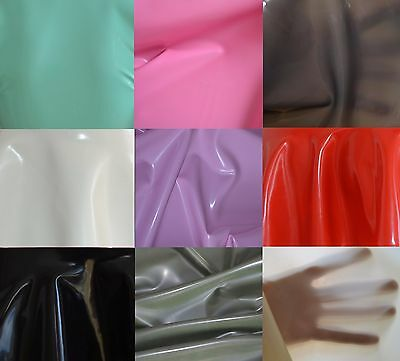 S20 // plum - Latexfolie pflaume Latex Meterware Radical Rubber