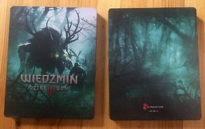 The Witcher 3 10Th Anniversary Steelbook Only Pc Xbox One Ps4 G2 Size New Box