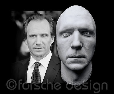 Ralph Fiennes Life Mask Lord Voldemort Bond M Spectre Skyfall Schindler's List