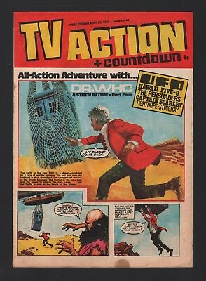 Tv Action + Countdown May 1972 Issue 66  Dr Who