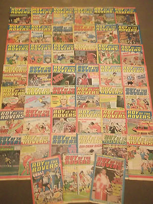 47 x ROY OF THE ROVERS from 1980 - Complete Year