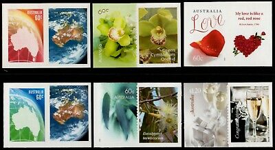 Australia 2013 Greetings Personalised Stamps with Tabs (Mint Never Hinged)