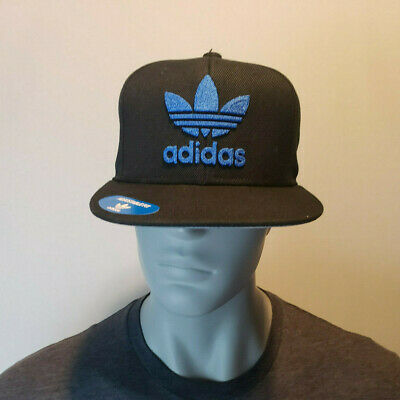 a1b433689eb ADIDAS Originals Thrasher hat cap snapback Blue Trefoil Chain logo SAME DAY  SHIP