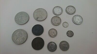 old coins job lot some silver