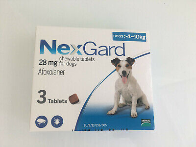 Necarde Flea Preventative Chewable for Dogs 8.8-22 lbs ship from USA ECTO