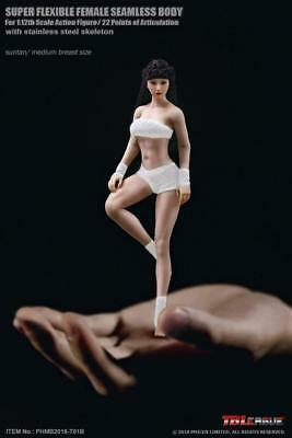 TBLeague 1/12 Phicen T01B Medium Chest Suntan Flexible Body Female Action Figure