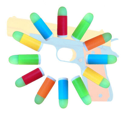 10pcs Children's Toy Soft Bullet Plastic Kids Outdoor Fun Game  YR