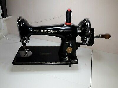 Vintage Singer Sewing Machine 201k c1948 Serial No. EE511602