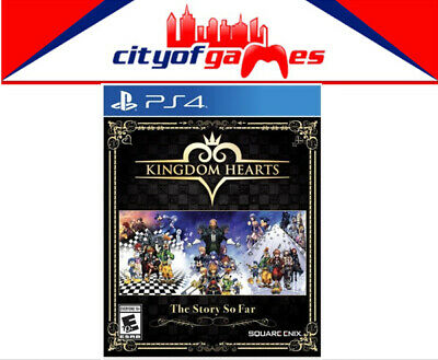 Kingdom Hearts The Story So Far PS4 Game Brand New & Sealed In Stock
