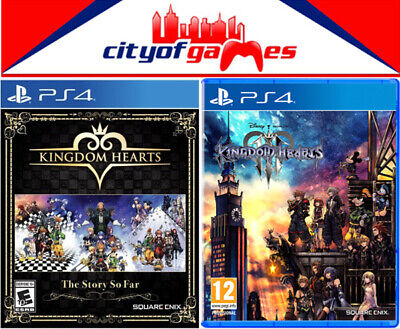 Kingdom Hearts The Story So Far & Kingdom Hearts III PS4 Game Bundle In Stock