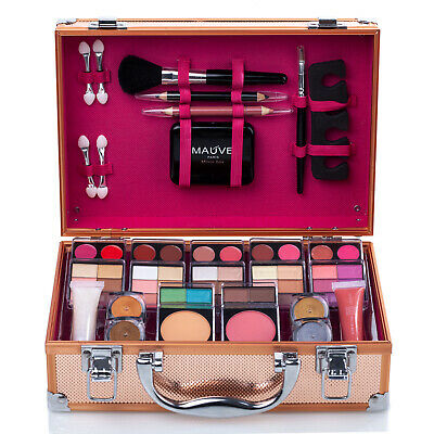 Make up Set Ladies Girls Gift Cosmetics Collection Carry Box Travel Vanity Case