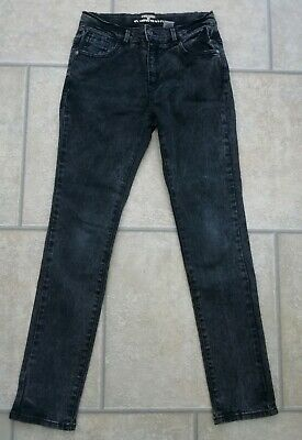 Boys Black Skinny Jeans Age 12 Years From La Radoute in EXCELLENT CONDITION.