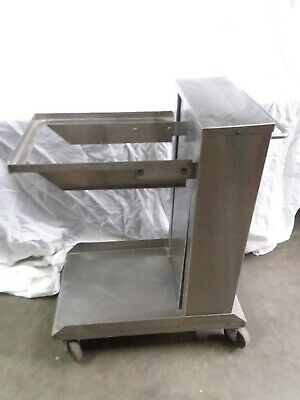 AMF Lowerator cafeteria Tray Dispenser Stainless Steel commercial food service