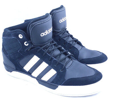 ADIDAS RALEIGH NEO Shoes Womens Black Mid Casual Sneakers Shoe Size ... 5d04266ac