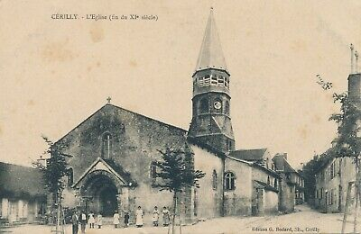 CPA - France - (03) Allier - Cérilly - L'Eglise