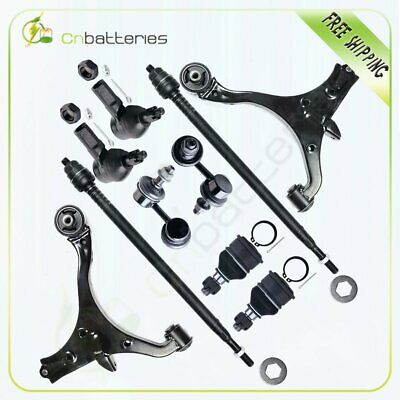 Front Suspension Kit Control Arm Outer Tie Rod for 2001 - 2005 Honda Civic 10pc